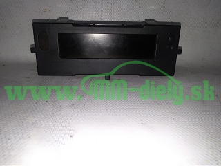LCD display Renault Clio III